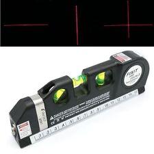 Multifonction Niveau Laser Aligneur Vertical Horizon Cross Line bande de mesure Ruler