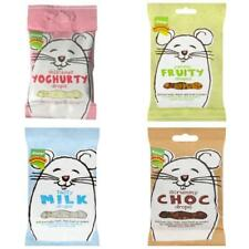ROTASTAK SMALL ANIMAL TREATS Yoghurt Milk Choc Drops Fruity Biscuits Rodent 50gm
