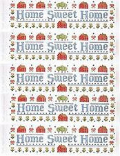 Frances Meyer HOME Sweet Home Scrapbook Stickers! 5 TITLE Sheets!