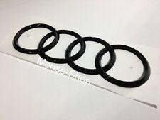 Audi Ringe schwarz hochglanz NICHT nachträglich lackiert
