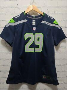 Authentic Nike Earl Thomas Seattle Seahawks Women's X-Large XL Football Jersey