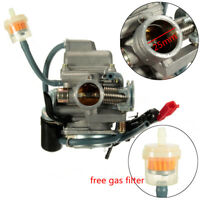 25mm GY6 150cc Scooter Moped Carburetor Carb For ATV Gokart Roketa Taotao New