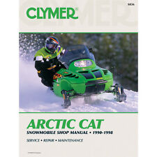 Arctic Cat Service Manual 1990-1998 Model Snowmobiles