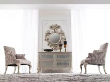 Chest of Drawers - Console Table - Modern Chest of Drawers - Geneve Silver