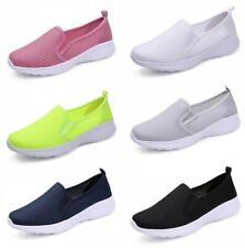 Womens Running Jogging Sports Shoes Breathable Mesh Sneakers Gym Tennis Comfy B