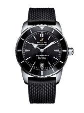 Schwarze mechanische (automatische) Breitling Armbanduhren