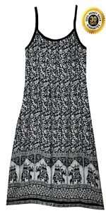 Indian Rayon Dress Top Tunic Blouse Blusa Ethnic Hippie Retro Boho For Womens
