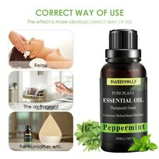Organic Peppermint Essential Oil 100%Pure For Body Relieve Aromatherapy Diffuser