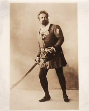 ANTONIO PAOLI opera tenor original photograph as Otello