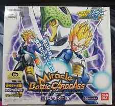 Carte Dragon Ball Z DBZ Miracle Battle Carddass Part 2 DB02 #Booster Box 2010