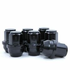 Set of 24 Black Ford Lug Nuts for Ford F150 Expedition Lincoln Navigator