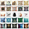 Animals & Skull Polyester Throw Pillow Case Cushion Cover Sofa Waist Home Decor