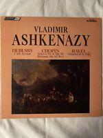 "VLADIMIR ASHKENAZY-Debussy-Chopin-Ravel- 12"" Vinyl Record LP - EX"