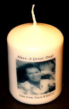 More details for candle picture cliff richard personalised birthday love anniversary unique #1