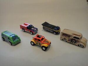 Hot Wheels 5 x Cars / Trucks From Grateful Dead Set - Loose New Mint Real Riders