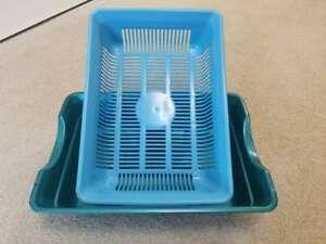 Cat Kitten Sifting, Easy Clean (9 x 26 x 36cm) Litterless Tray, Scoopless Toilet