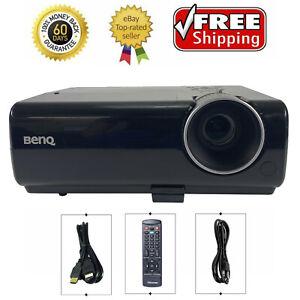 Benq MS510 DLP Projector 2700 Lumens 3D Professional HD 1080p HDMI w/bundle