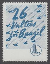 Brazil Cinderella Poster Stamp MNH 26 Vultees