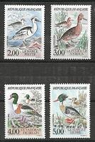 NEUF** YT 2785 2786 2787 2788 SERIE Complète 1993 Oiseaux Nature de France