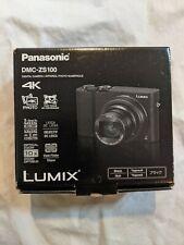 Panasonic LUMIX DMS-ZS100 20.1MP 4K Digital Camera - Black