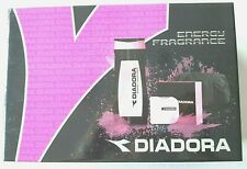 DIADORA ENERGY FRAGRANCE SET Regalo EDP 100ml + Bagnoschiuma 400 ml + Borsello
