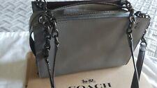 COACH 26829 1941 ROGUE Chain Shoulder Bag Grain Leather Heather Grey BrandNWT's
