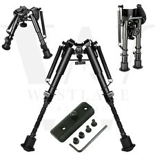 "6"" to 9"" Carbon Fiber Rifle Bipod with KeyMod Adapter for Hunting Shooting"