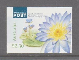 Australia 2017 Water plants Giant Waterlily Muh Int.Post booklet stamp
