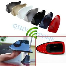 Vehicle Shark Fin Signal Antenna AM/FM Radio Aerial Roof Decoration Accessories