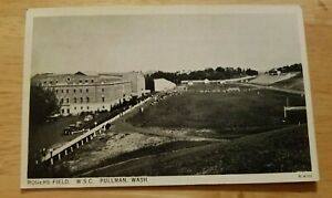 Vintage Postcard Rogers Field Washington State University Pullman Washington