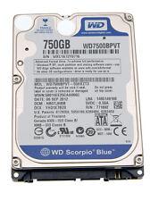 "Notebook Festplatte / HDD HP Compaq 8710w Serie 2,5"" 750 GB SATA II"