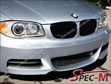 BMW E82 E88 128i 135i Coupe Convertible Front Black Matte Grille Grill 2008-2013