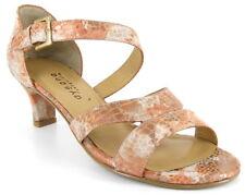 Aysana Dani Dress Sandal Shoe Peach Reptile 38