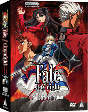 Fate / Stay Night . The Complete Series Collection . Anime . 6 DVD . NEU . OVP