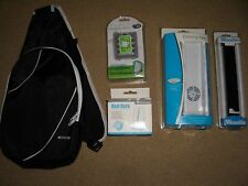 NINTENDO Wii ACCESSORY PACK Battery Dock Wireless Sensor Cool Fan Carry Bag NEW!