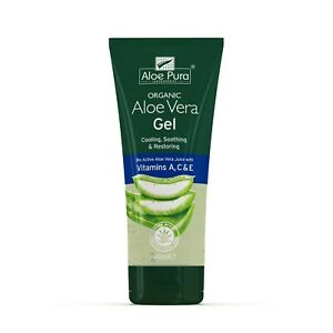 1 Pack of Aloe Pura Aloe Vera Organic Gel with Vitamins A C & E - 200ml