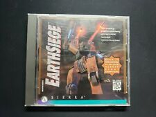 Metaltech: Earthsiege (Pc, 1994) Ms-Dos 5.0 Video Game Cd and Instruction Book