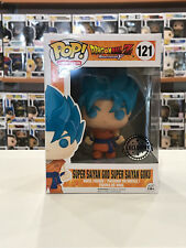 FUNKO POP SUPER SAIYAN GOD SUPER SAIYAN GOKU 121 DRAGONBALL Z EXCLUSIVE