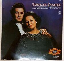 Montserrat Caballe Placido Domingo (Angel Sealed LP S36934) Love Duets Don Carlo