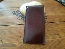 Wallet Leather - Bifold (Checkbook Credit Cards)