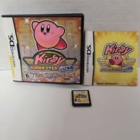 Kirby Super Star Ultra Nintendo DS Game COMPLETE CIB (2008) Game Case Manual