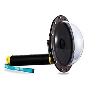 Telesin Dome Mount for GoPro HERO4 Session HERO5 Session - Dome Underwater Case