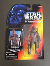Chewbacca 1995 STAR WARS Power of the Force POTF MOC Red Card