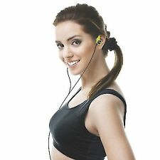 AKAI Ladies Running Jogging Sports Fitness Wrap Around Earphones Headset Green