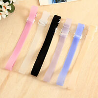 3Pcs Women Non-slip Bra Strap Adjustable Back Strap Holders With Buckle /Clips