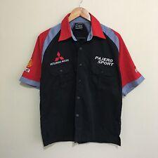 Pajero Sport Mitsubishi Motors Ralliart Pit Shirt Mens Large