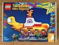 LEGO 21306 Ideas The Beatles Yellow Submarine 553 Pieces