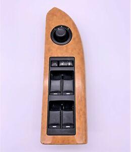 OEM 07-09 Chrysler Aspen Front Left Door Window Master Switch Trim Wood Bezel