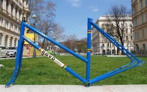 Vintage Rare 1970s BOVO - RIH Vienna Ladies Road Bike Steel Frame + Fork 52cm