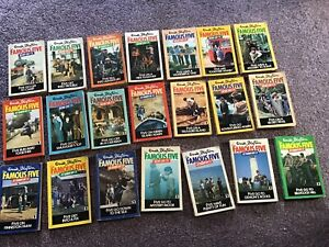 21 Match Set Enid Blyton Books Famous Five Tv Covers Knight Paperbacks 1970s